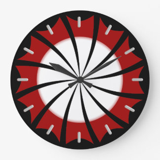 Pinwheel Wall Clock