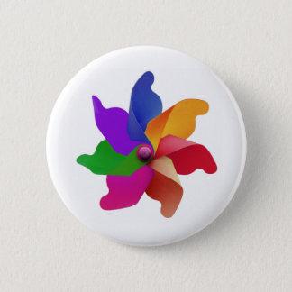 Pinwheeled Button