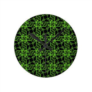 Pinwheels Round Wallclocks