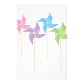 Pinwheels Stationery