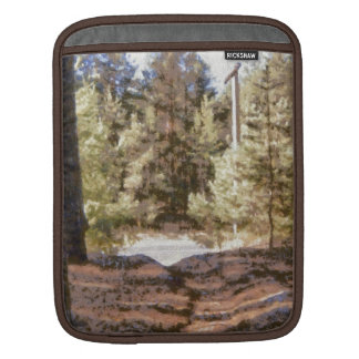 Piny forest sleeve for iPads