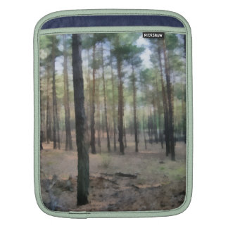 Piny forest sleeves for iPads
