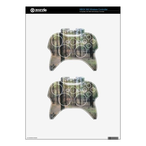 Piny forest xbox 360 controller skin