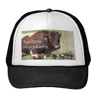Pinzgauer Bull Cows Cap- customize Trucker Hat
