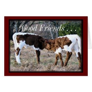Pinzgauer Calves- AnyOccasion card-customize Greeting Card