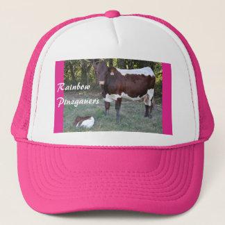 Pinzgauer Cow & Calf Women's Cap- personalize Trucker Hat