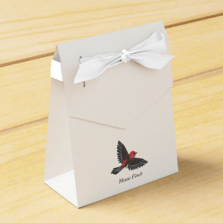 Pinzón de casa caja para regalos de fiestas