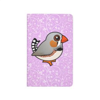 Pinzón de cebra de Birdorable Cuadernos Grapados