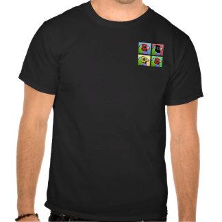 Pinzón de Gouldian de cuatro colores Camisetas