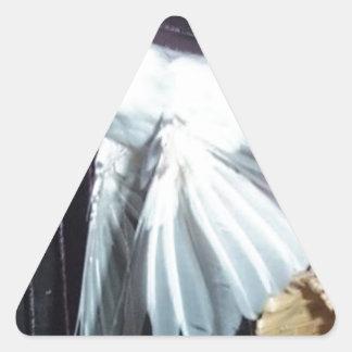 Pinzón de Java en vuelo Colcomanias Trianguladas Personalizadas