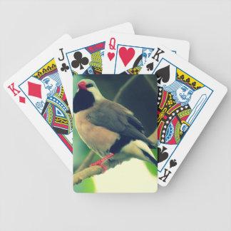 pinzón Largo-atado Baraja Cartas De Poker
