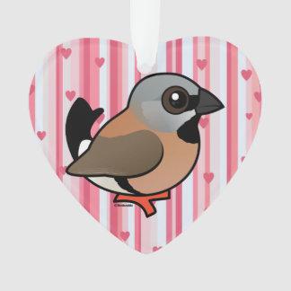 Pinzón Negro-throated de Birdorable