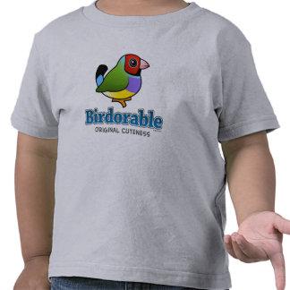 Pinzón original de Gouldian del Cuteness Camiseta