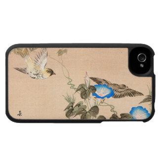 Pinzón y correhuela Keibun Matsumo de Cardueline iPhone 4 Protector