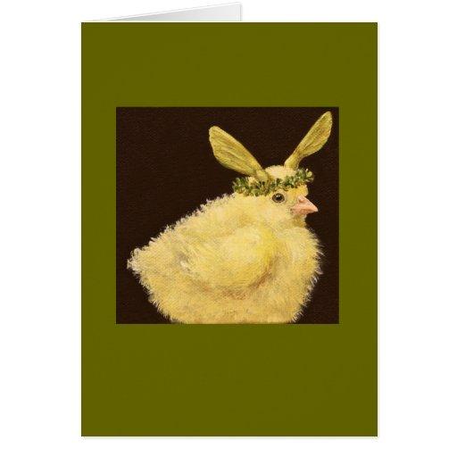 Pío con la tarjeta del gorra de la semilla del arc