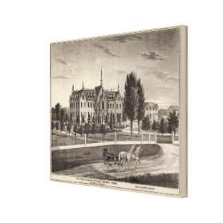 Pio Nono College & Normal School Canvas Print