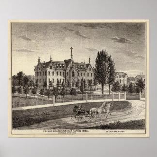 Pio Nono College & Normal School Poster
