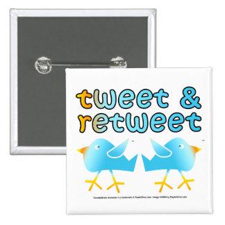Pío y botones de Retweet Pin