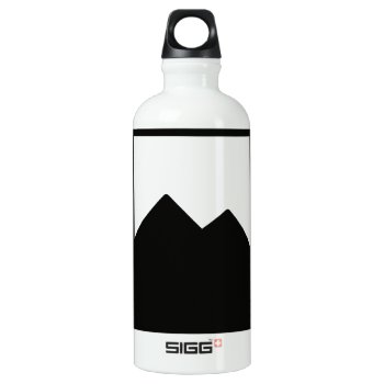 Pioc_flask Aluminum Water Bottle by CREATIVEWEDDING at Zazzle