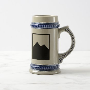 Pioc_flask Beer Stein by CREATIVEWEDDING at Zazzle