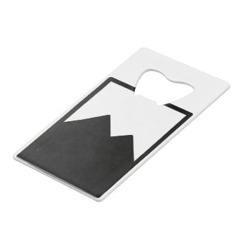 Pioc_flask Credit Card Bottle Opener by CREATIVEWEDDING at Zazzle