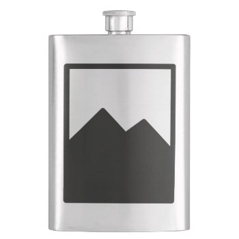 Pioc_flask Flask by CREATIVEWEDDING at Zazzle