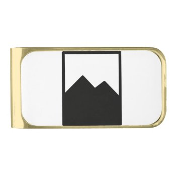 Pioc_flask Gold Finish Money Clip by CREATIVEWEDDING at Zazzle
