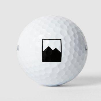 Pioc_flask Golf Balls by CREATIVEWEDDING at Zazzle