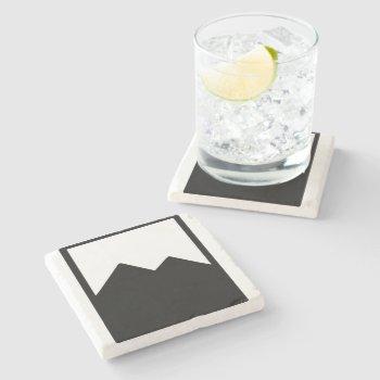 Pioc_flask Stone Coaster by CREATIVEWEDDING at Zazzle