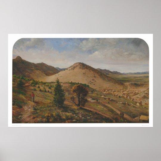 Pioche, Lincoln County, Nevada (1186) Poster