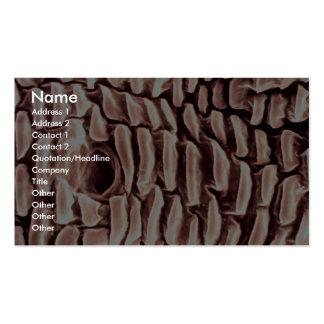 Piojo - lado plantilla de tarjeta de visita