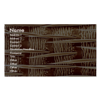 Piojo - trasero tarjeta personal