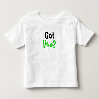 ¿Piojos conseguidos? Camiseta del niño
