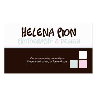 Pión de Helena Tarjetas Personales