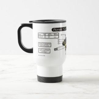Pioneer 10 and 11 Mug