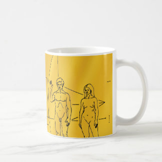 Pioneer 10 Gold Plaque Coffee Mug