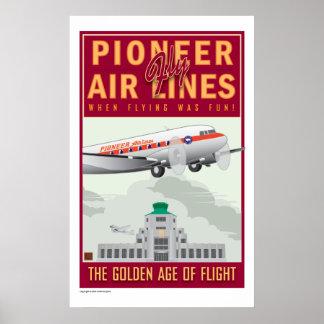 Pioneer Air-Poster