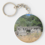 Pioneer Cabin Key Chains