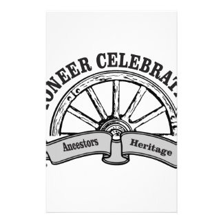 pioneer celebration stationery