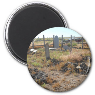 Pioneer Cemetery 2 Inch Round Magnet