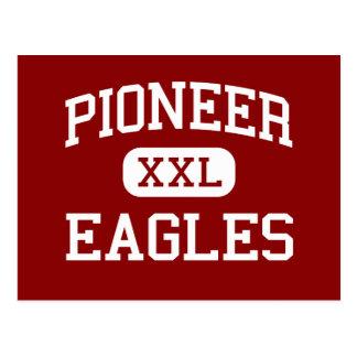 Pioneer - Eagles - Middle - Cooper City Florida Postcard