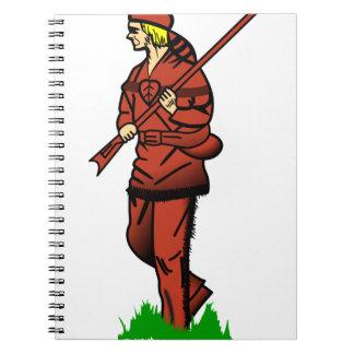 Pioneer Hunter Spiral Notebook
