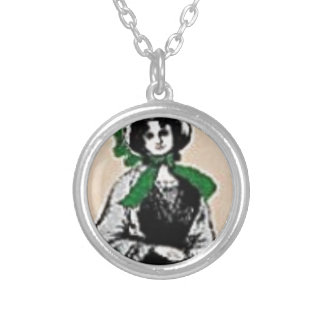 Pioneer Lady Silver Plated Necklace