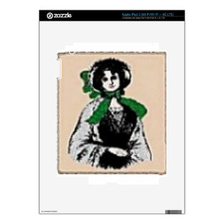 Pioneer Lady Skin For iPad 3