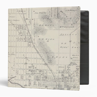 Pioneer Land Co subdivisions Binder