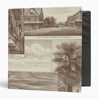 Pioneer Land Co tract, Porterville Binder