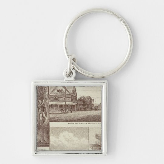 Pioneer Land Co tract, Porterville Keychain