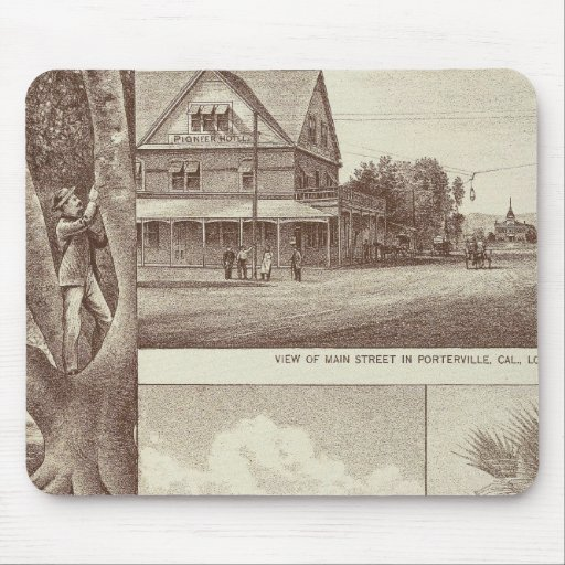 Pioneer Land Co tract, Porterville Mouse Pad