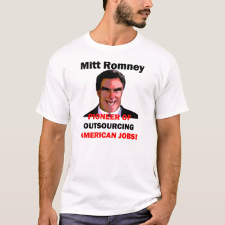 pioneer Mitt Romney T-Shirt