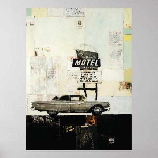 Pioneer Motel Print